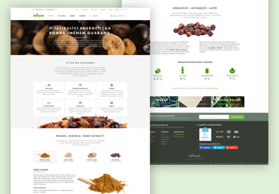 Guarana - Botanic microsite on Dribbble